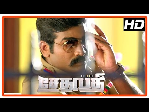 Sethupathi Tamil Movie | Climax Scene | Vijay Sethupathi finishes Vela Ramamoorthy | End Credit