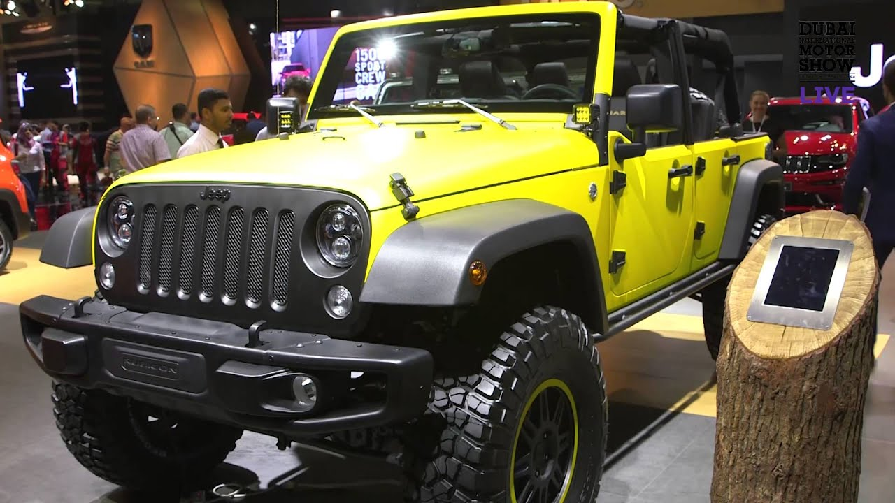 Steve zanlughi jeep dubai motor show youtube for Garage jeep luxembourg
