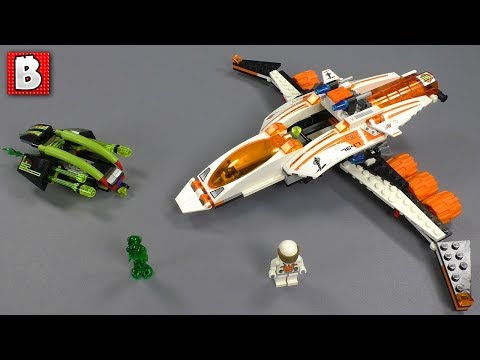 LEGO Mission to Mars MX-41 Switch Fighter Set 7647 | Review
