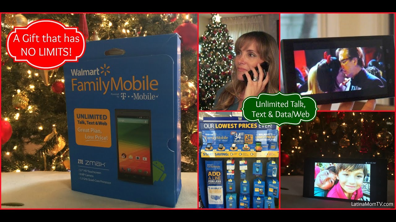 A Gift With NO LIMITS! Walmart Family Mobile Unlimited ALL