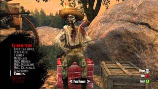 Red Dead Redemption multiplayer zombie characters Thumbnail