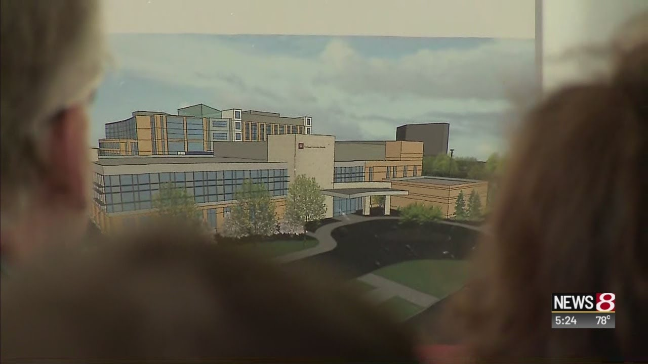 Ceremony for new cancer center at IU Health North Hospital in Carmel