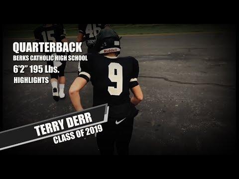 Terry Derr - Berks Catholic High School - Highlights