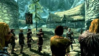 Skyrim [PS3]: Intro + Gameplay [1/3]