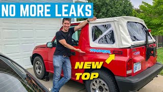 fixing-the-water-leaks-on-the-400-geo-tracker-new-top