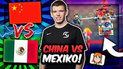 MEXIKO vs. CHINA im KAMPF ums WM HALBFINALE! | Welches Top-Team gewinnt? | Clash Royale Deutsch
