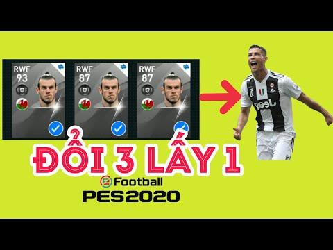 EFootball Pes 2020 - Cách đổi 3 Cầu Thủ Lấy Ronaldo