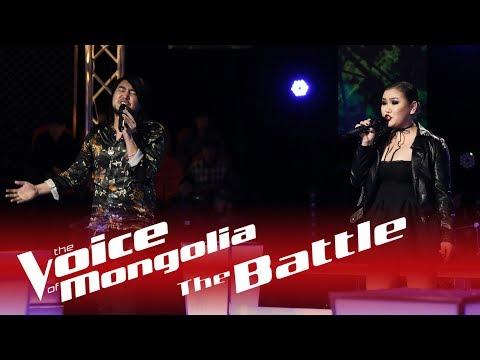 """Munkh-Erdene vs Bujinlkham - """"Pumped up kicks"""" - The Battle - The Voice of Mongolia 2018"""