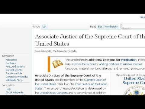 Supreme Court Justice Duties