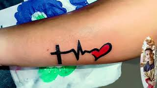 #Heartbeat #tattoo