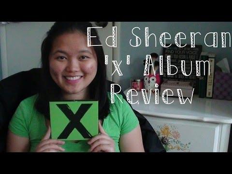 """Ed Sheeran """"X"""" Album Review"""