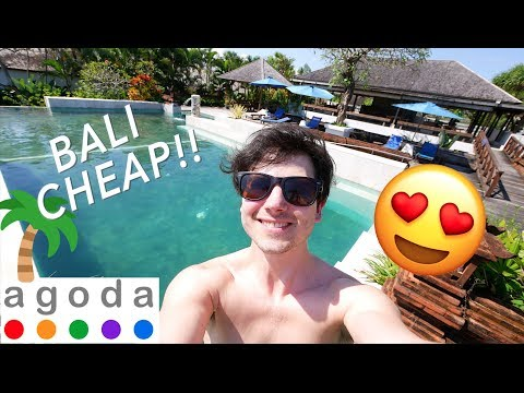BALI - LUXURY HOTELS FOR CHEAP! 😍(Booked with Agoda)