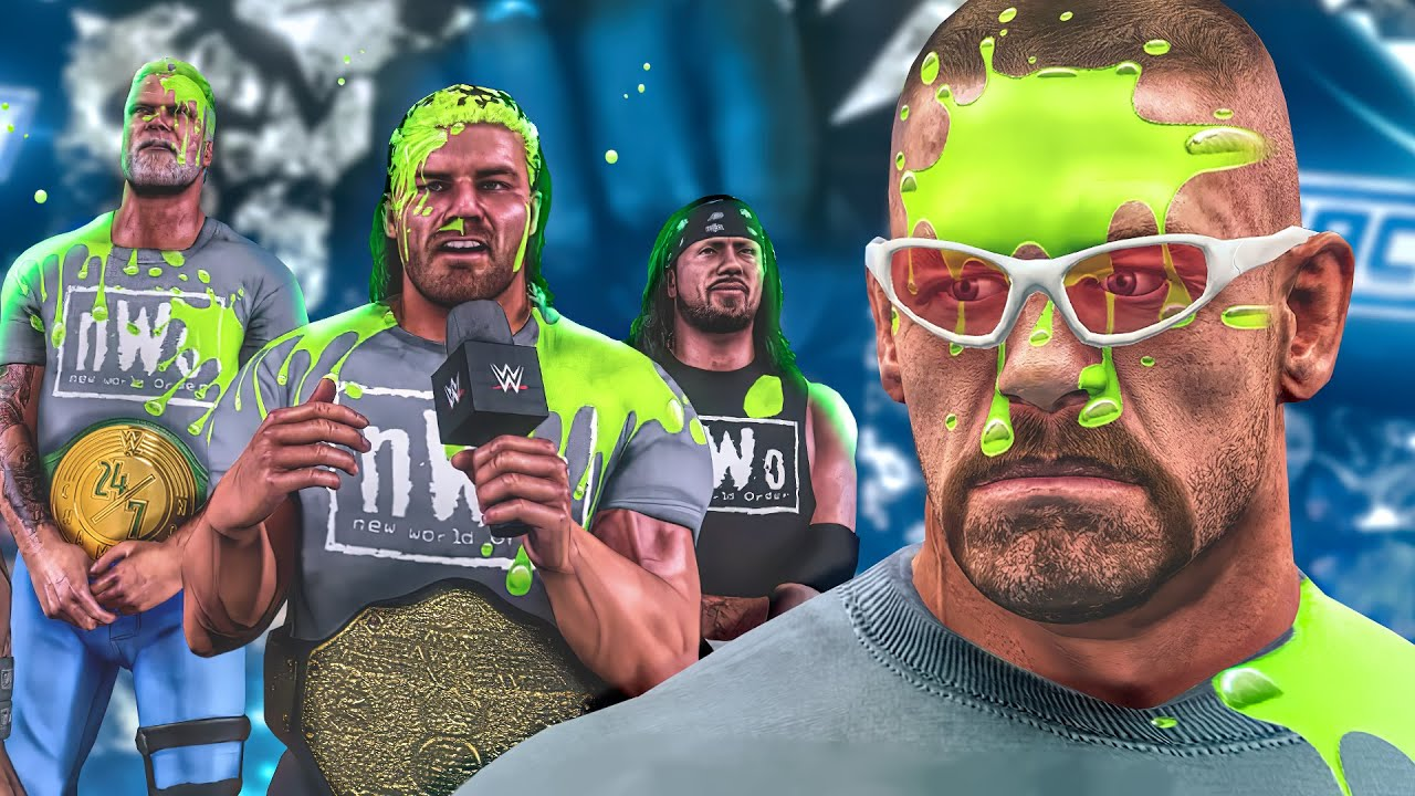 John Cena Gets Gunged & Embarrassed by DX! (WWE 2K Story)
