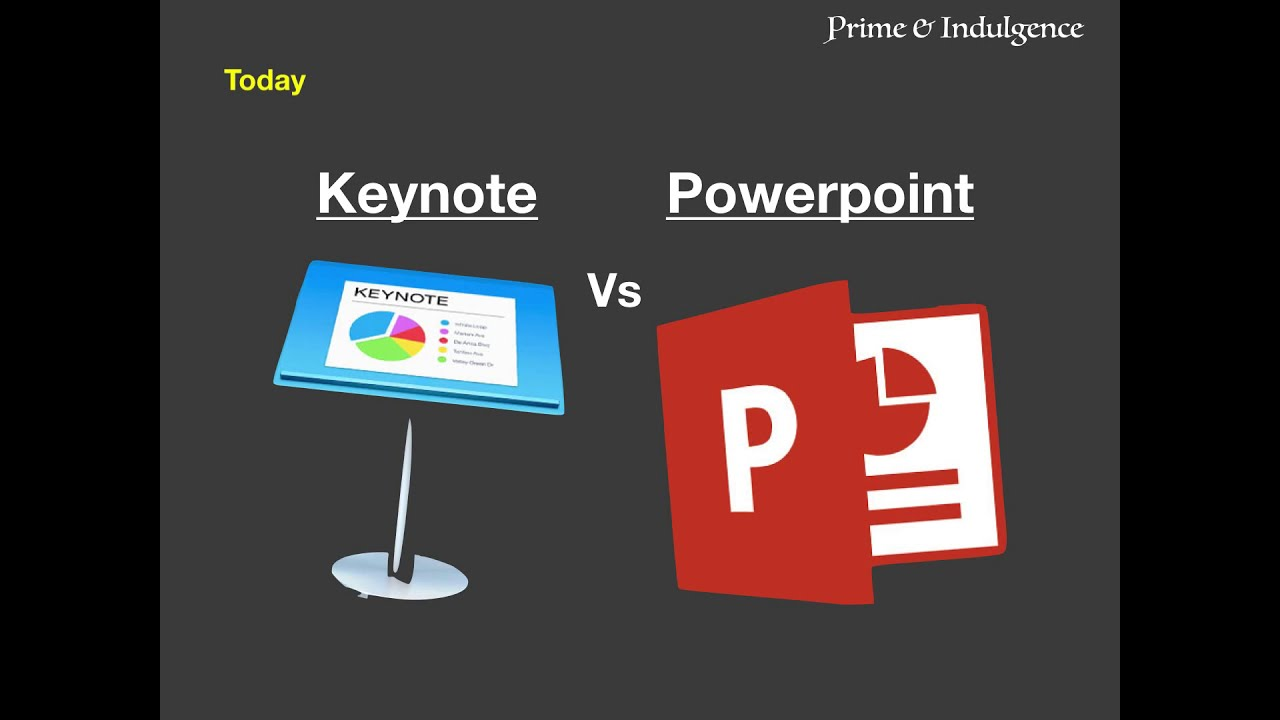 Image result for keynote vs powerpoint
