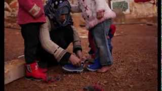 Rain Boots for Syrian Refugees