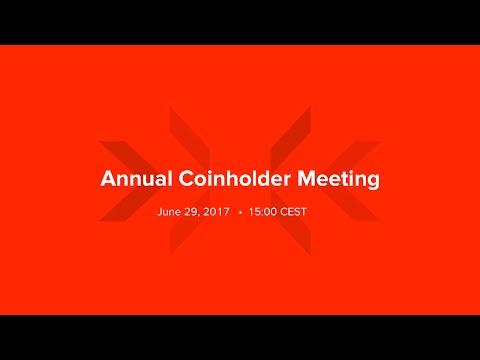 Lykke Annual Coinholder Meeting