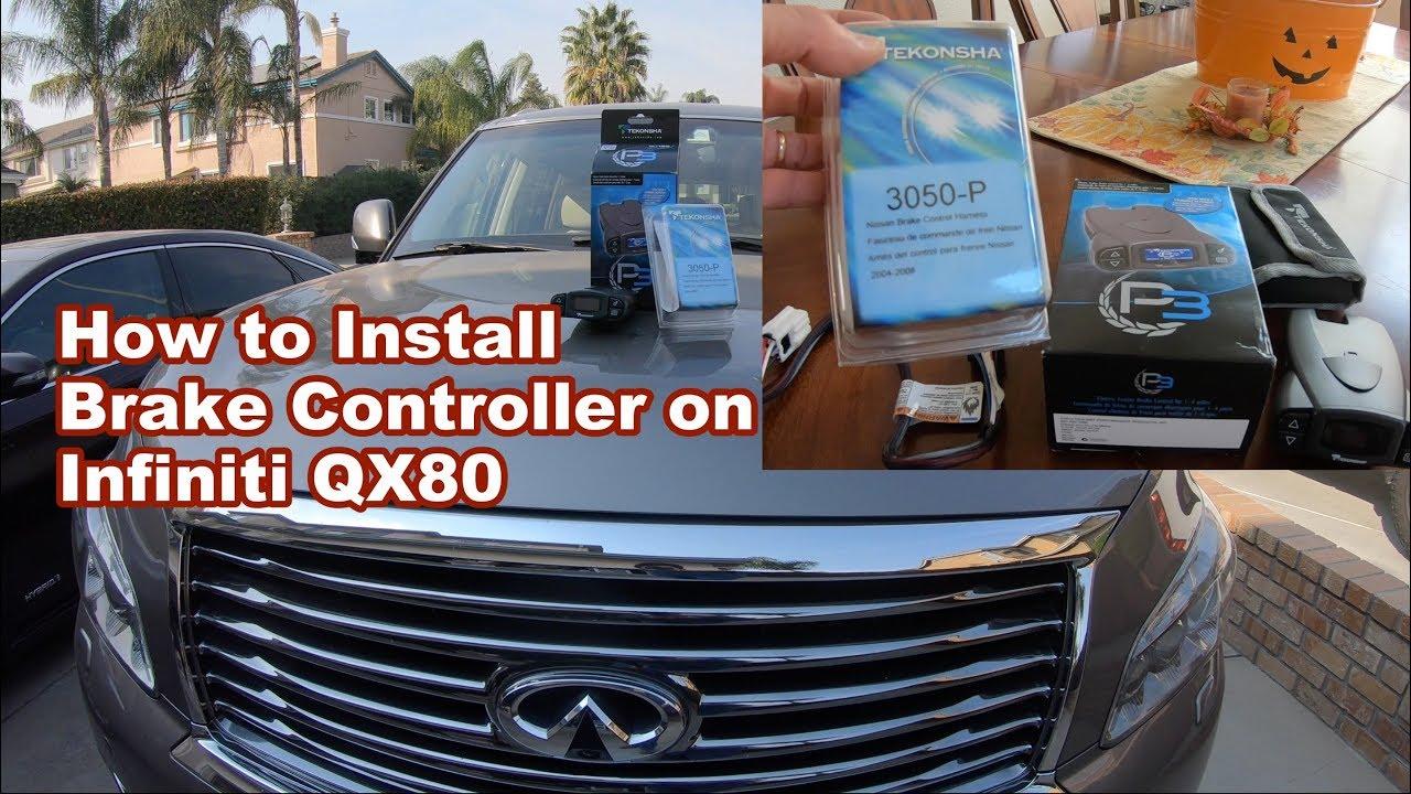 How to Install an Electronic ke Controller on Infiniti QX80 Tekonsha Infiniti Trailer Wiring Diagram on infiniti fuses, infiniti accessories, infiniti parts, infiniti transfer case, infiniti g20 repair manual,
