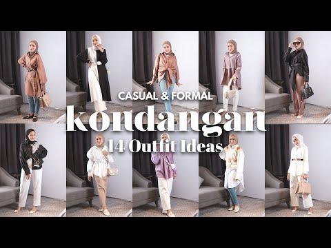KONDANGAN OOTD IDEAS (CASUAL & FORMAL)   Seviq Febinita - YouTube