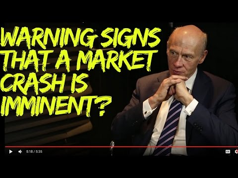 Warning Signs that a Market Crash is Imminent?