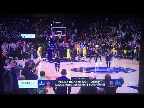 Jim Petersen and Dave Benz lose it over Jimmy Butler's given excuse for missing game action