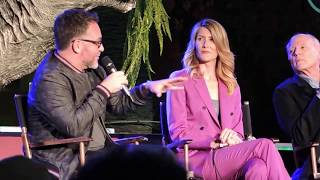 Jurassic Park 25th Anniversary with Laura Dern and Colin Trevorrow at Universal Studios Hollywood