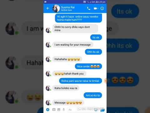 How To Impress Unknown Girl On Chat In Nepali  Chat With Girl How To Talk With Girl Part 2