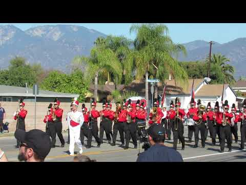 Bernardo Yorba Middle School Baldwin Park Band Review 11-3-2018