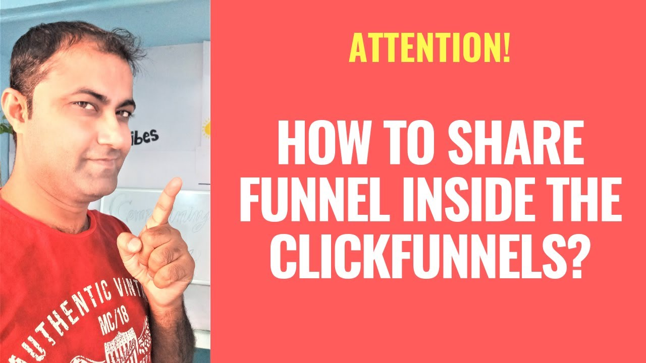How To Share Funnel Inside The ClickFunnels?