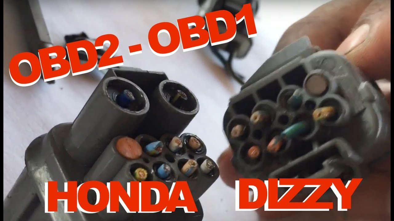 97 Honda Civic Wiring Diagram 3 Phase Motor U V W Converting Distributor Wires Obd2 To Obd1 Or Diy Jumper - Youtube