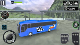 Uphill Bus Driving - Coach Bus Driver Simulator 3D (by PickNPlay) Android Gameplay [HD] screenshot 1