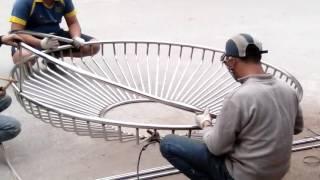 Công đoạn sản xuất gường treo ở việt nam
