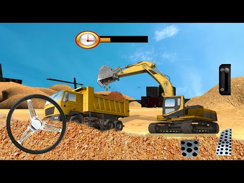 Heavy Excavator Crane Sim (by Vital Games Production) Android Gameplay [HD]
