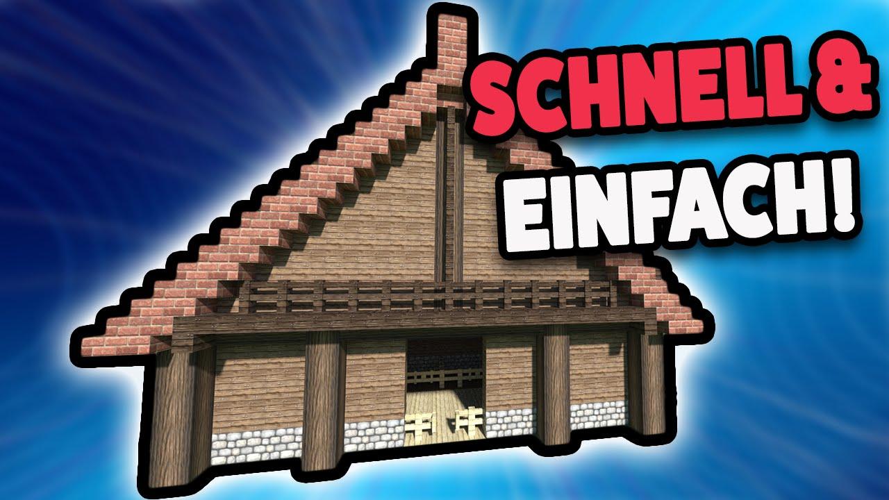Minecraft Stall Für Pferde Hühnerstall Bauen Tutorial Deutsch - Minecraft redstone haus bauen tutorial deutsch