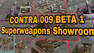 Command & Conquer Generals Zero Hour CONTRA 009 Beta 1 Superweapons Showroom