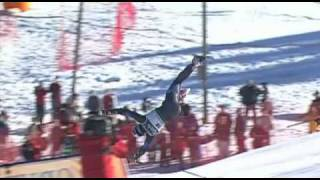 The dangers of downhill skiing!