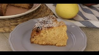 Apple cake with jam: step by step recipe for this moist and creamy dessert!