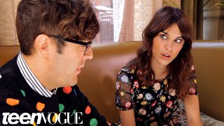 Alexa Chung Talks Boys, Her New Book, and Selena Gomez – Breakfast with Bevan – Teen Vogue
