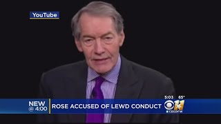 Charlie Rose Responds To Sexual Harassment Allegations