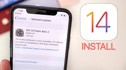 iOS 14 Public Beta Released - How to Install!