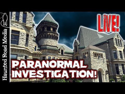 LIVE PARANORMAL INVESTIGATION at HAUNTED OHIO STATE REFORMATORY