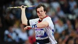 How to throw a Javelin by Mervyn Luckwell UK number 1 Javelin thrower