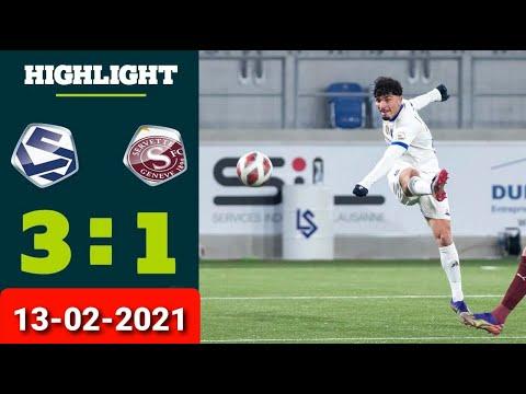 Lausanne Servette Goals And Highlights