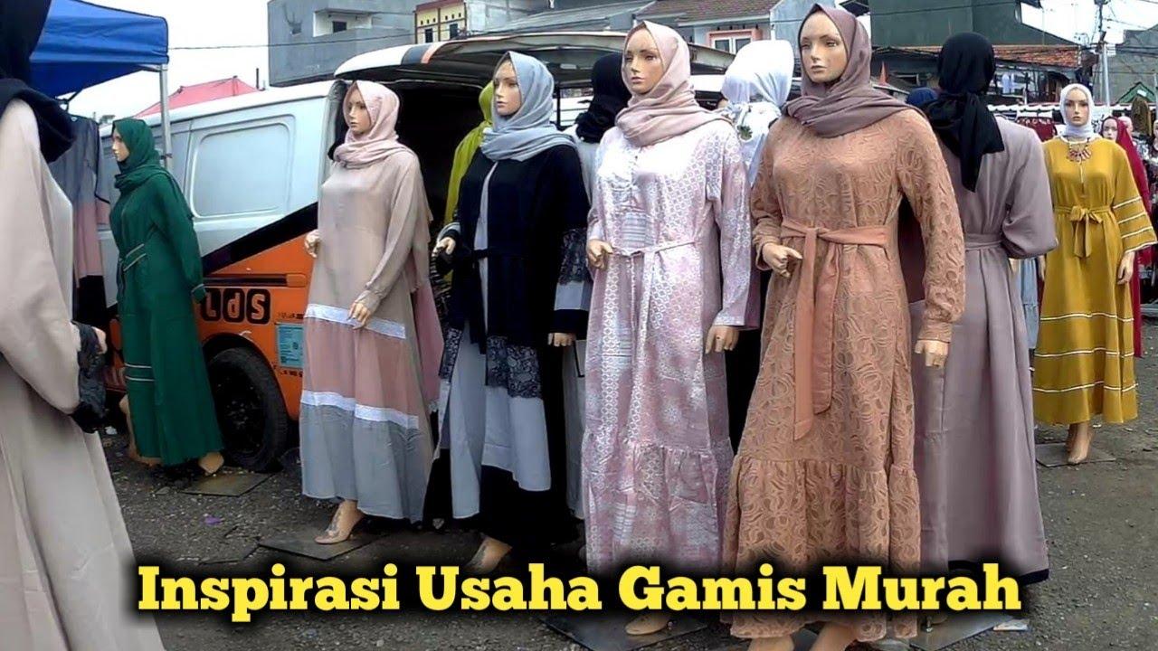 WOW ‼️ Pusat Grosir Baju Gamis Murah Meriah Di Pasar Tasik ...
