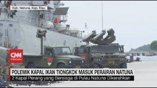 Kapal Tiongkok Masuk Natuna, TNI Siaga Tempur