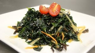 How To Make Seaweed Salad (wakame Salad)