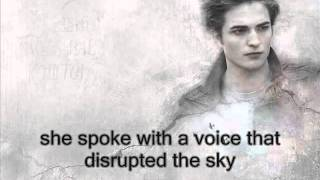 robert pattinson - let me sign twilight soundtrack (LYRICS ON SCREEN)