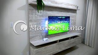 Painel de TV em MDF - Como fazer