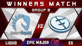 Liquid vs EG [GREAT] Winners B EPICENTER Major 2019 Highlights Dota 2