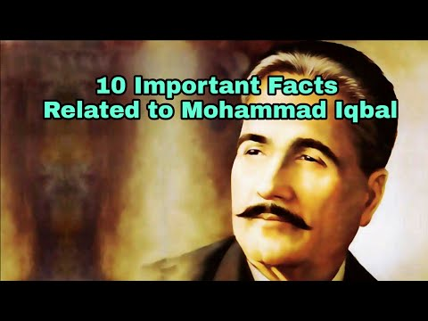10 Important Facts Related to Mohammad Iqbal || Biography of Mohmmad Iqbal in Hindi