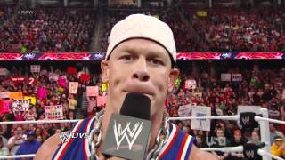 WWE The Doctor Of Thuganomics(John Cena) Is Back 2012